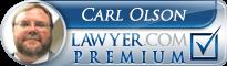 Carl D Olson  Lawyer Badge