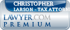 Christopher Larson - Tax Attorney Lawyer Badge