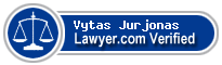Vytas Jurjonas  Lawyer Badge