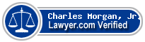 Charles Linwood Morgan, Jr.  Lawyer Badge
