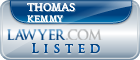 Thomas Kemmy Lawyer Badge