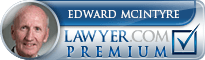 Edward W. McIntyre  Lawyer Badge