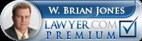 W. Brian Jones  Lawyer Badge