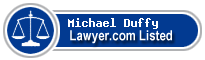 Michael Duffy Lawyer Badge