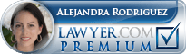 Alejandra Rodriguez  Lawyer Badge
