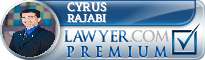 Cyrus Rajabi  Lawyer Badge