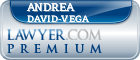 Andrea David-Vega  Lawyer Badge