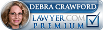 Debra Vaniman Crawford  Lawyer Badge