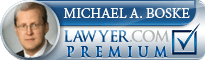 Michael Boske  Lawyer Badge