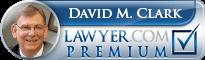 David M Clark  Lawyer Badge