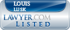 Louis Lusk Lawyer Badge