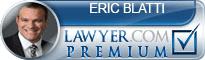 Eric J Blatti  Lawyer Badge