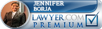 Jennifer Borja  Lawyer Badge