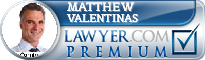 Matthew Valentinas  Lawyer Badge
