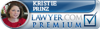 Kristie D. Prinz  Lawyer Badge
