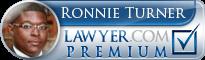 Ronnie Turner  Lawyer Badge