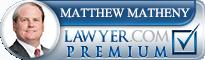 Matthew C. Matheny  Lawyer Badge