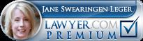 Jane Swearingen Leger  Lawyer Badge