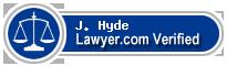 J. Keith Hyde  Lawyer Badge