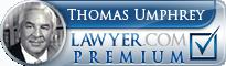 Thomas Walter Umphrey  Lawyer Badge