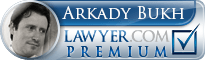 Arkady Bukh  Lawyer Badge