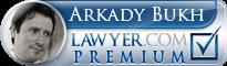 Arkady Bukh  Lawyer Badge