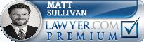 Matt Sullivan  Lawyer Badge