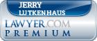 Jerry Lutkenhaus  Lawyer Badge