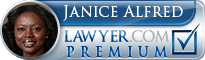 Janice F. Alfred  Lawyer Badge