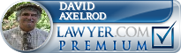David L. Axelrod  Lawyer Badge