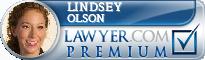 Lindsey Olson  Lawyer Badge