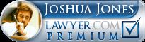 Joshua Duane Jones  Lawyer Badge