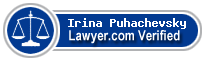Irina S. Puhachevsky  Lawyer Badge