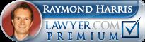 Raymond Harris  Lawyer Badge
