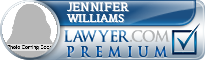Jennifer Williams  Lawyer Badge