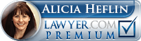 Alicia M. Heflin  Lawyer Badge