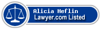 Alicia Heflin Lawyer Badge