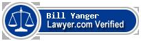 Bill Yanger  Lawyer Badge