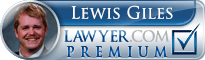 Lewis C. Giles  Lawyer Badge