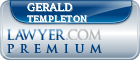 Gerald A. Templeton  Lawyer Badge