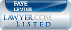 Faye LeVine Lawyer Badge