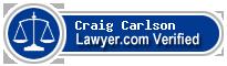 Craig Carlson  Lawyer Badge