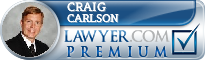 Craig Carlson  Lawyer Badge