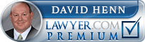 David Henn  Lawyer Badge