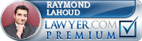 Raymond Lahoud Lawyer Badge