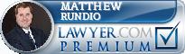 Matthew M. Rundio  Lawyer Badge
