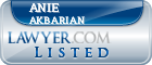 Anie Akbarian Lawyer Badge