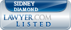 Sidney Diamond Lawyer Badge