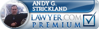 Andy G. Strickland  Lawyer Badge