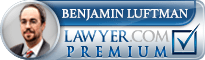Benjamin L Luftman  Lawyer Badge